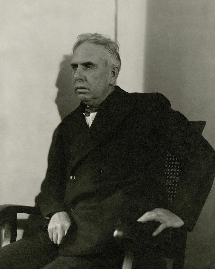 Theodore Dreiser Sitting Photograph by Charles Sheeler