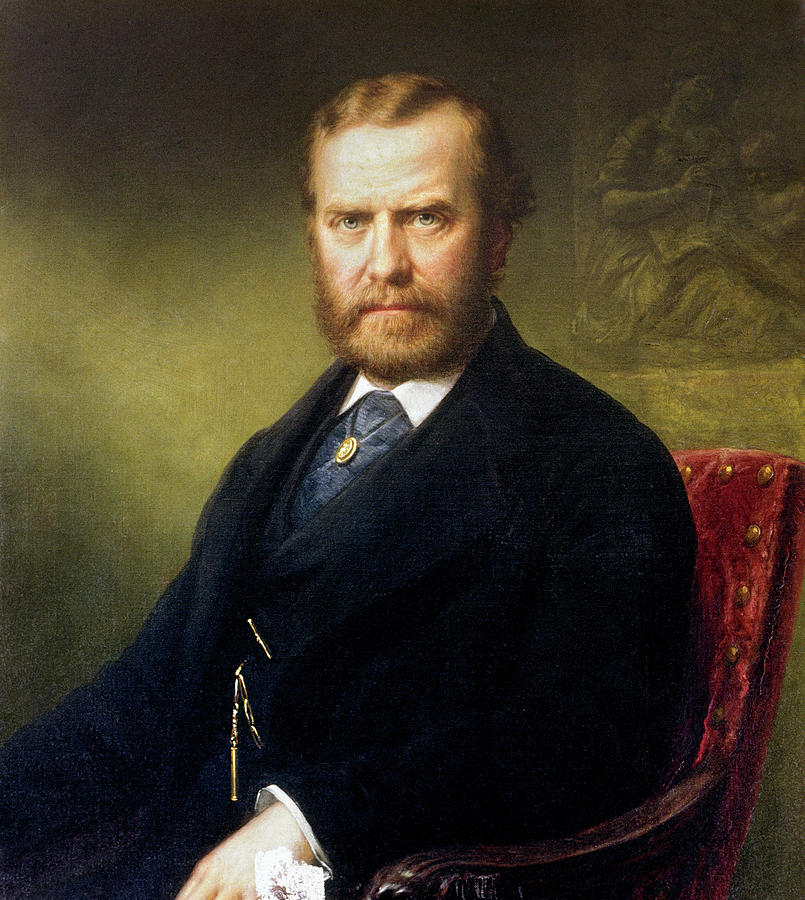 1877 Painting - Theodore Roosevelt, Sr by Granger