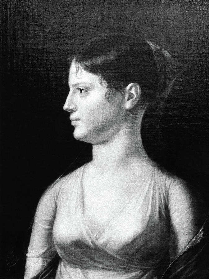 18th Century Painting - Theodosia Burr (1783-1813) by Granger
