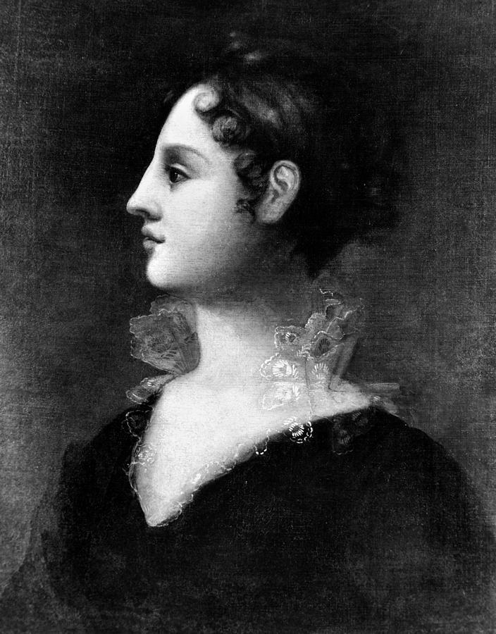 1802 Painting - Theodosia Burr Alston (1783-1813) by Granger