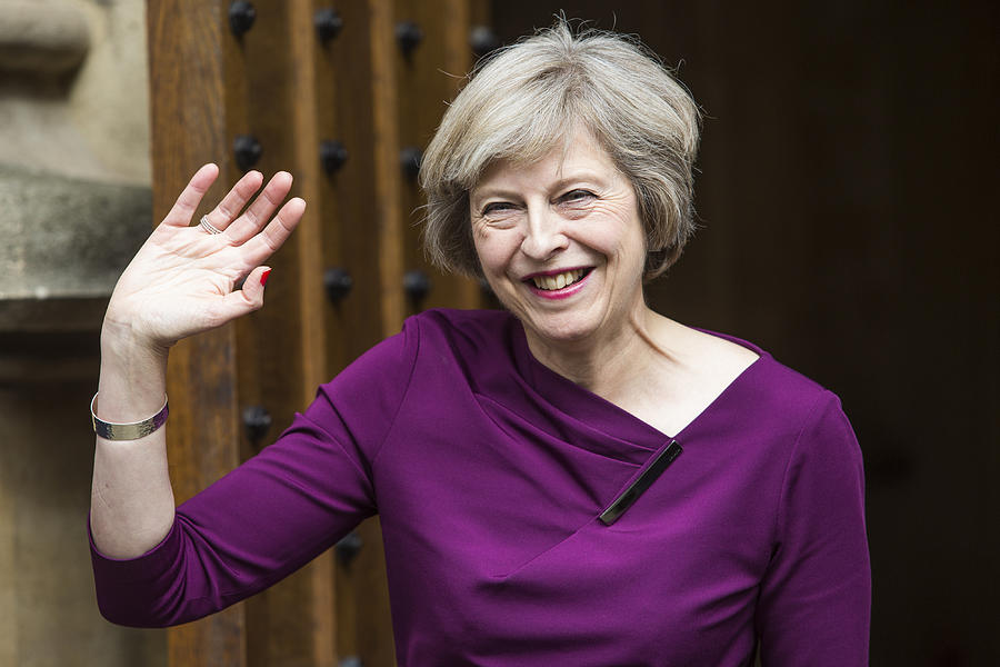 Theresa May Remains The Favourite To Become Conservative Party Leader Photograph by Jack Taylor
