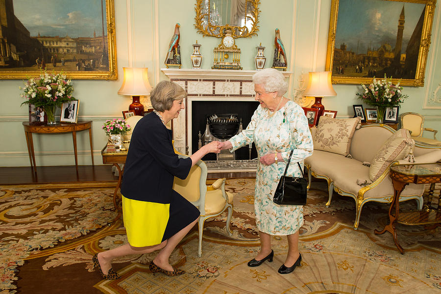 Theresa May Succeeds David Cameron As The UKs New Prime Minister Photograph by WPA Pool