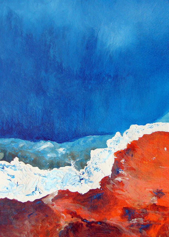 Abstract Painting - Thermal Shift by Abbie Groves