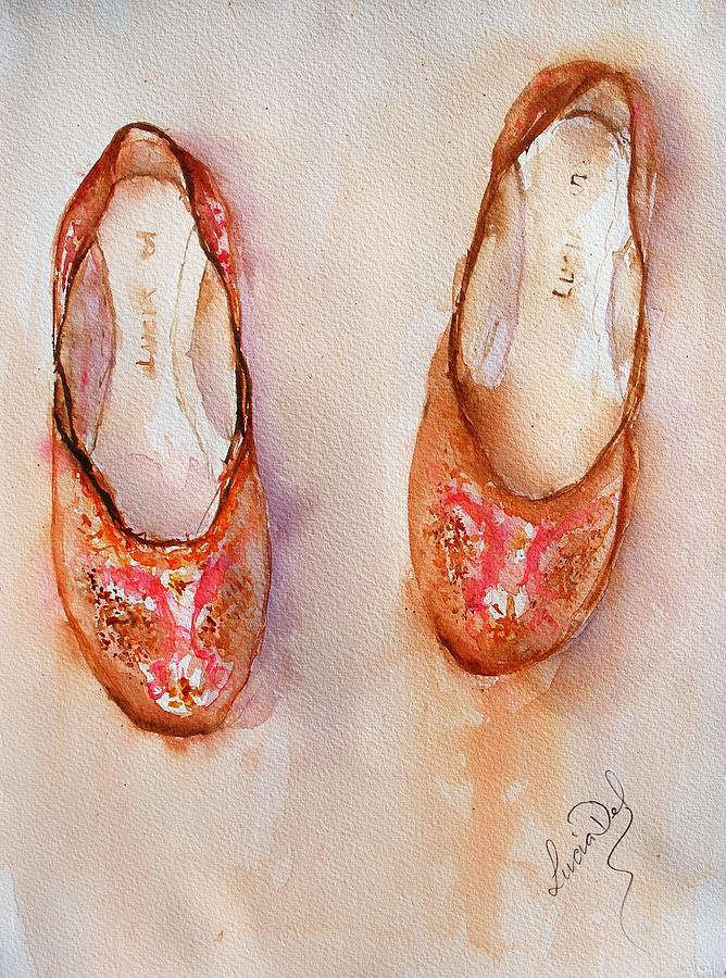 These shoes were made for walkin by Lucia Del