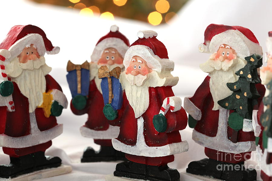 Santa Photograph - They Are Coming by Sophie Vigneault