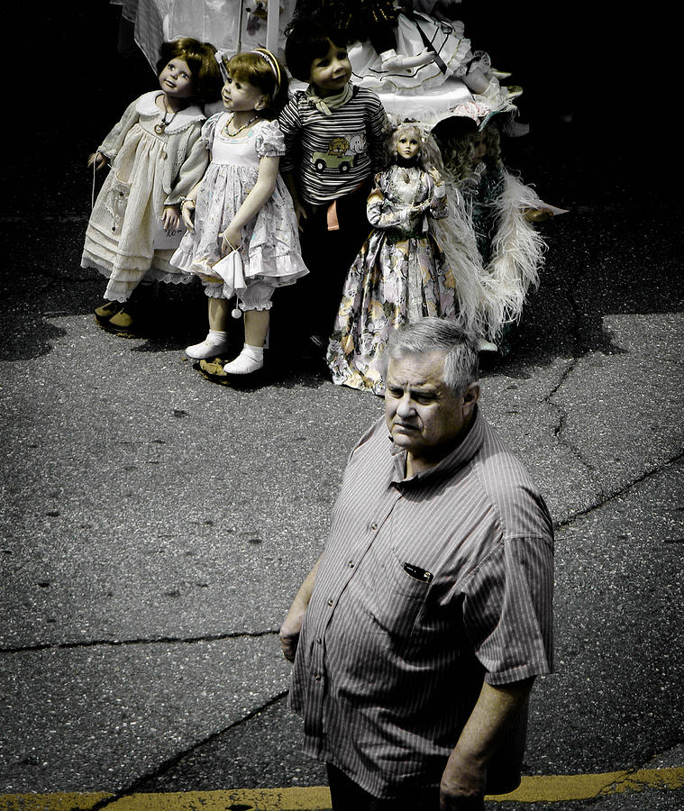 Dolls Photograph - They See Real People by Christy Usilton