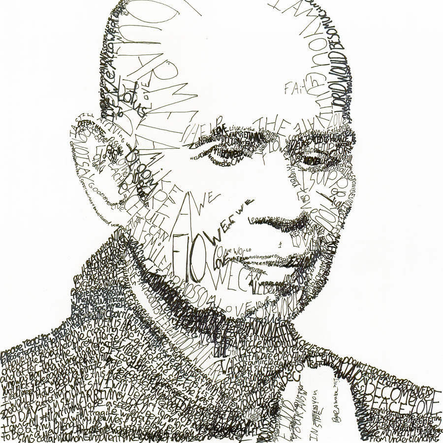 Thich Nhat Hanh Drawing