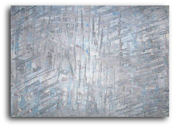 Ice Painting - Thin Ice by Catherine Emile