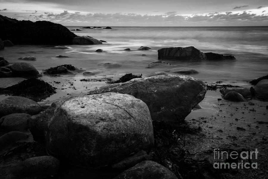 Black And White Photograph - Thinking Spot by Sue OConnor