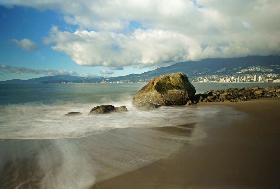 Vancouver Photograph - Third Beach In Vancouver by Ann  Badjura