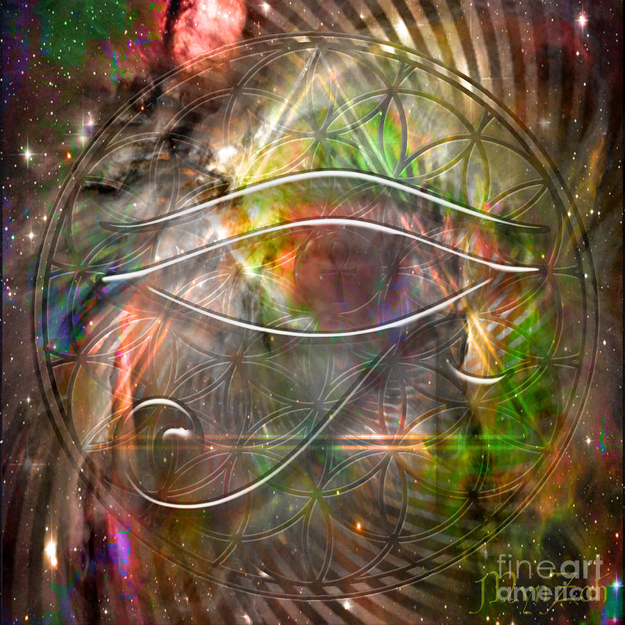 Third Eye Digital Art by Mynzah Osiris
