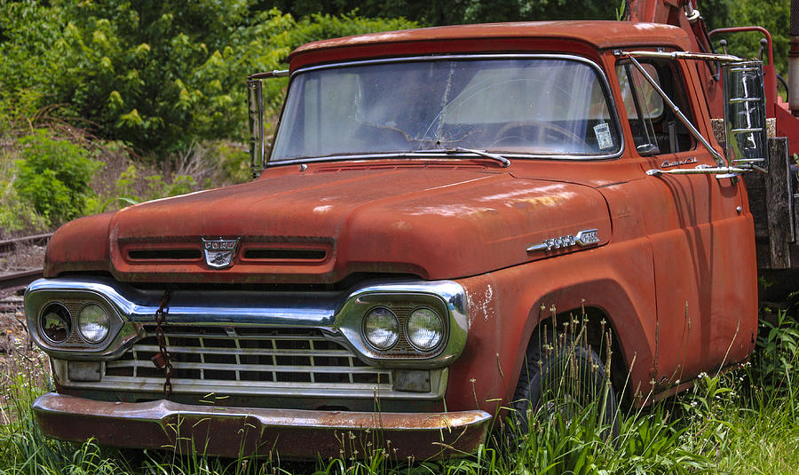 Truck Photograph - Third Generation Ford F 350 by Robert J Andler