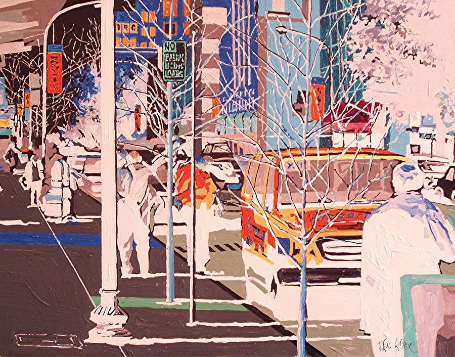 Sacramento Painting - Thirteenth And J by Paul Guyer