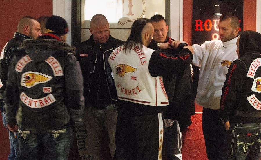 Thirty Bandidos Defect To Hells Angels In Krefeld by Mathis Wienand