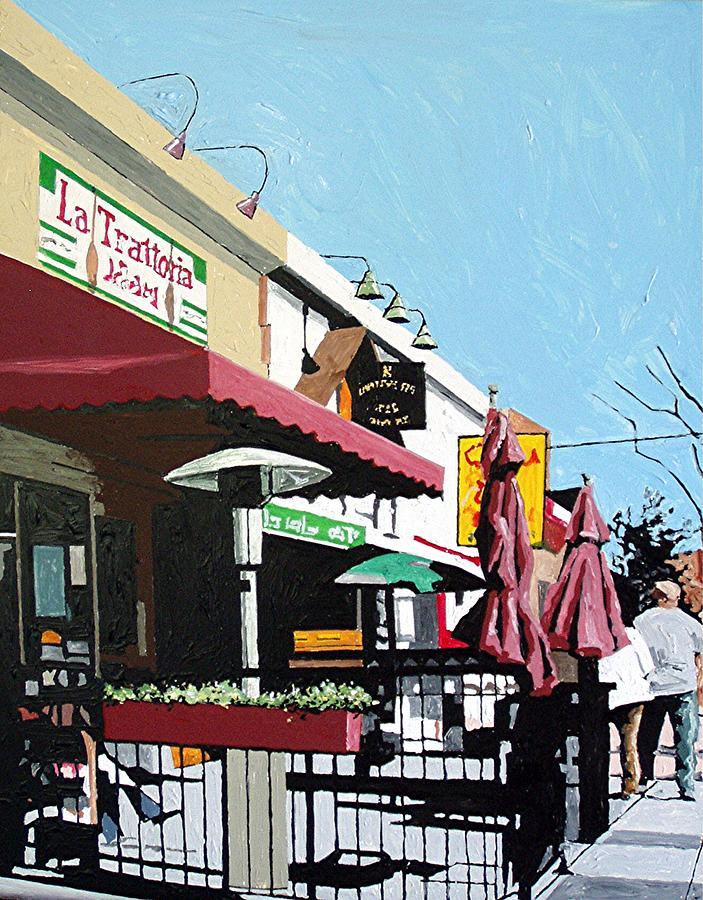 Sacramento Painting - Thirty Sixth And J by Paul Guyer