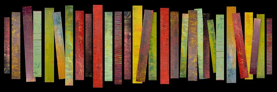 Oil Paintings Painting - Thirty Stripes 1.0 by Michelle Calkins