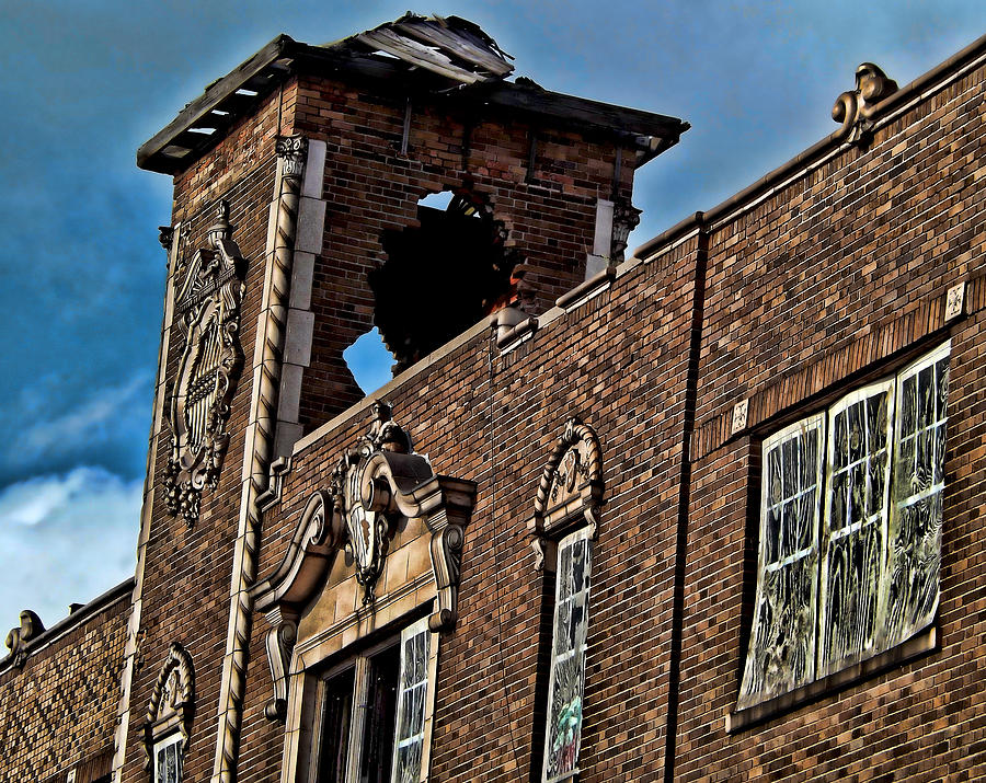 Abandoned Photograph - This Building Is History by Kristie  Bonnewell