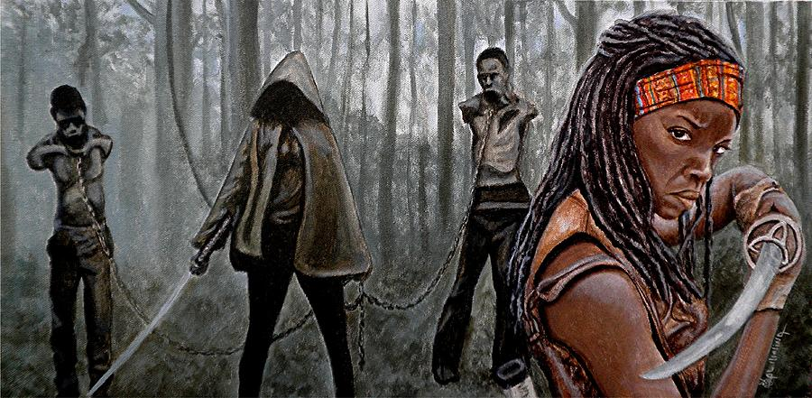 How To Acrylic Paint Walking Dead