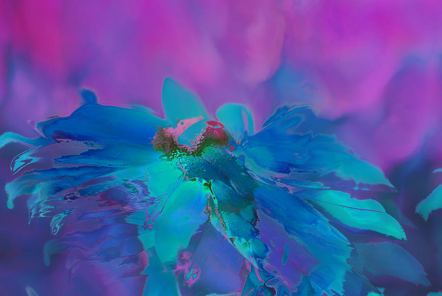 Purple Painting - This Is Not Just Another Flower - Bpb02 by Variance Collections