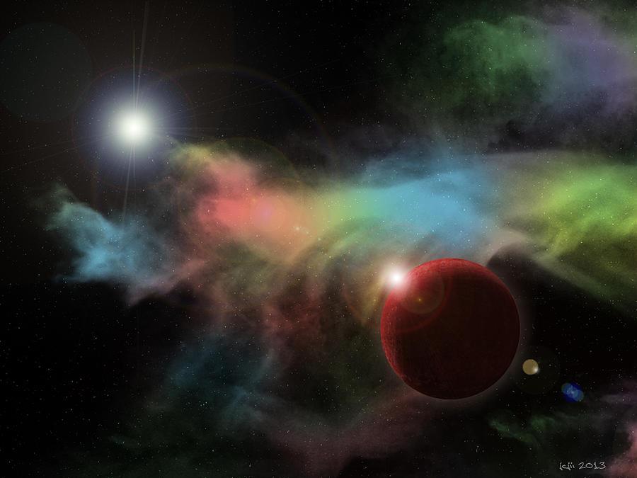 This is not space by James C Jones II