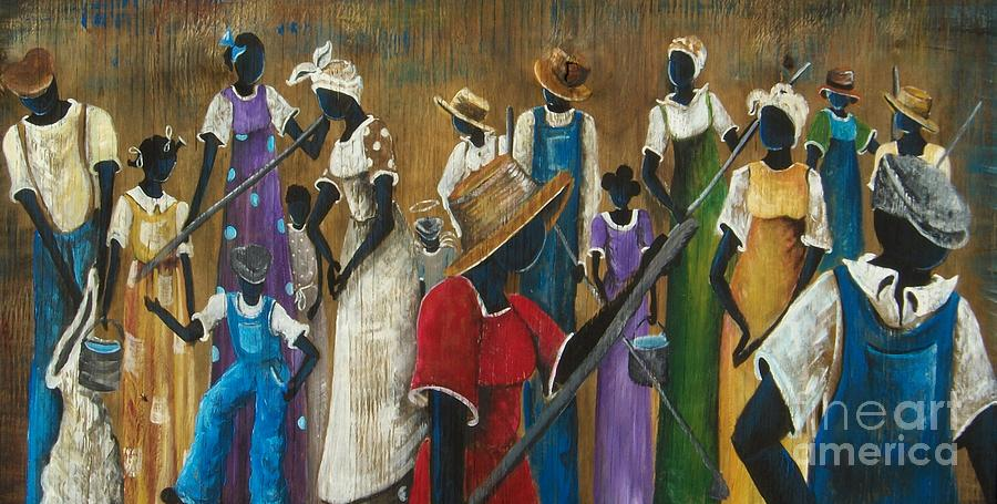 Authentic Painting - This Joy I Have by Sonja Griffin Evans