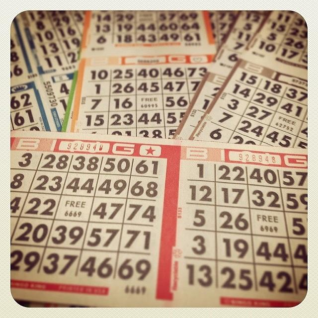 Bingo Photograph - This Just Got Real by April Moen