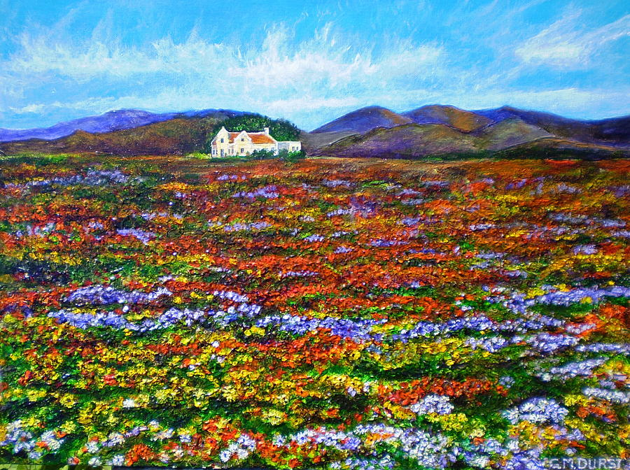 Flower Painting - This Must Be Heaven by Michael Durst