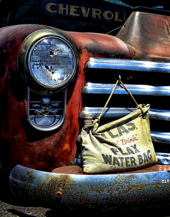 Old Chevy Truck Photograph - This Ol Chevy by Kristie  Bonnewell