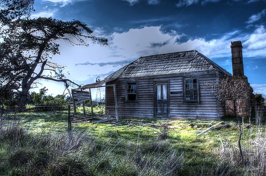 Tasmania Photograph - This Old House .......... by Ian  Ramsay
