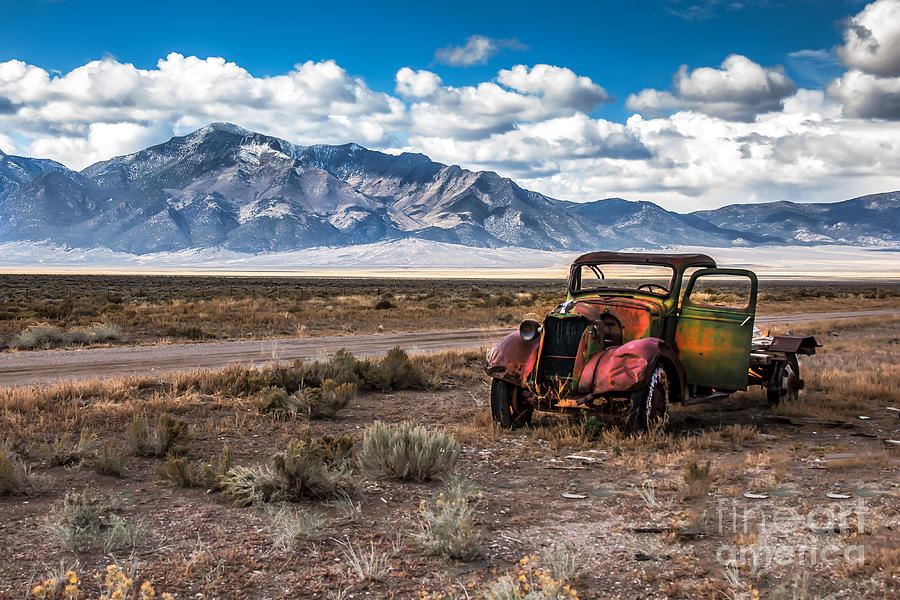 Transportation Photograph - This Old Truck by Robert Bales