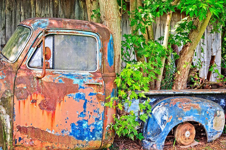 William Britten Photograph - This Old Truck Two by William Britten