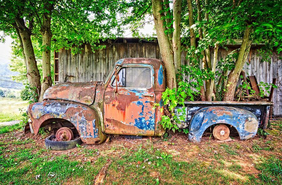 William Britten Photograph - This Old Truck by William Britten