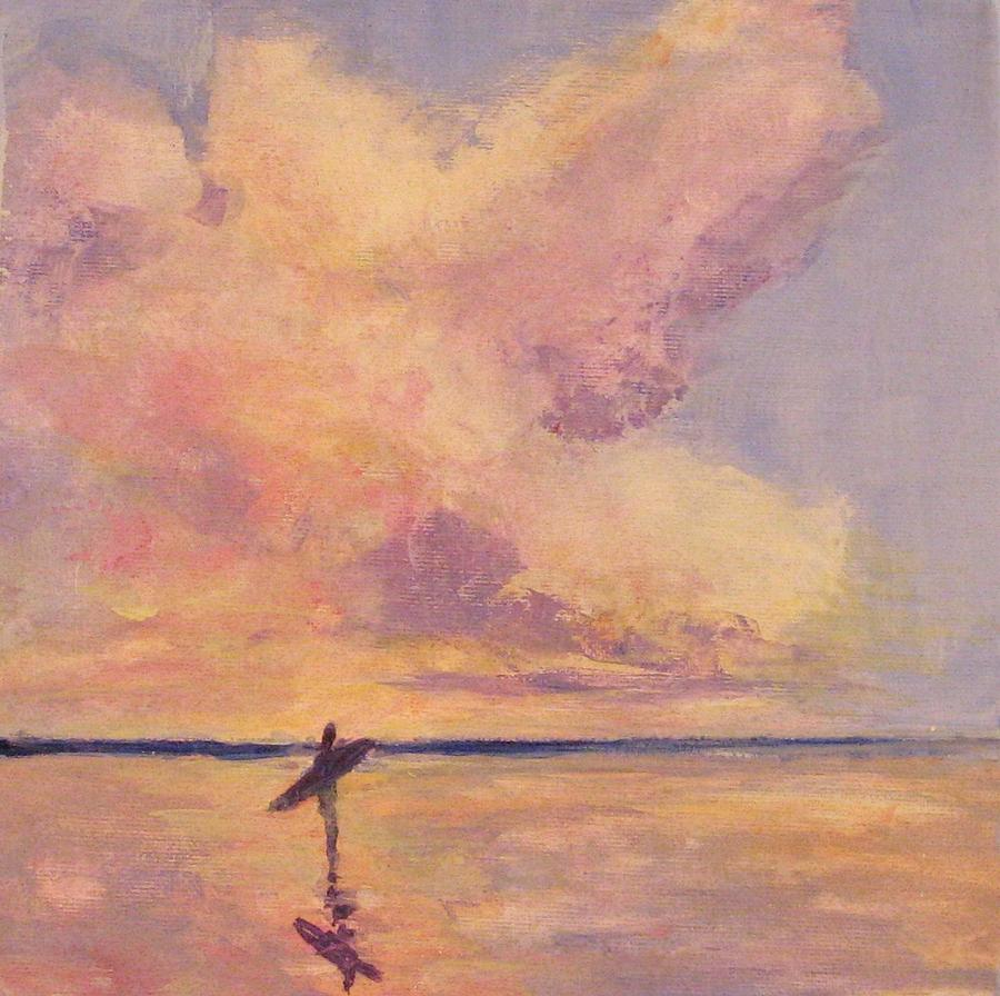 Beach Painting - This Side of Paradise 1 by Cecelia Campbell