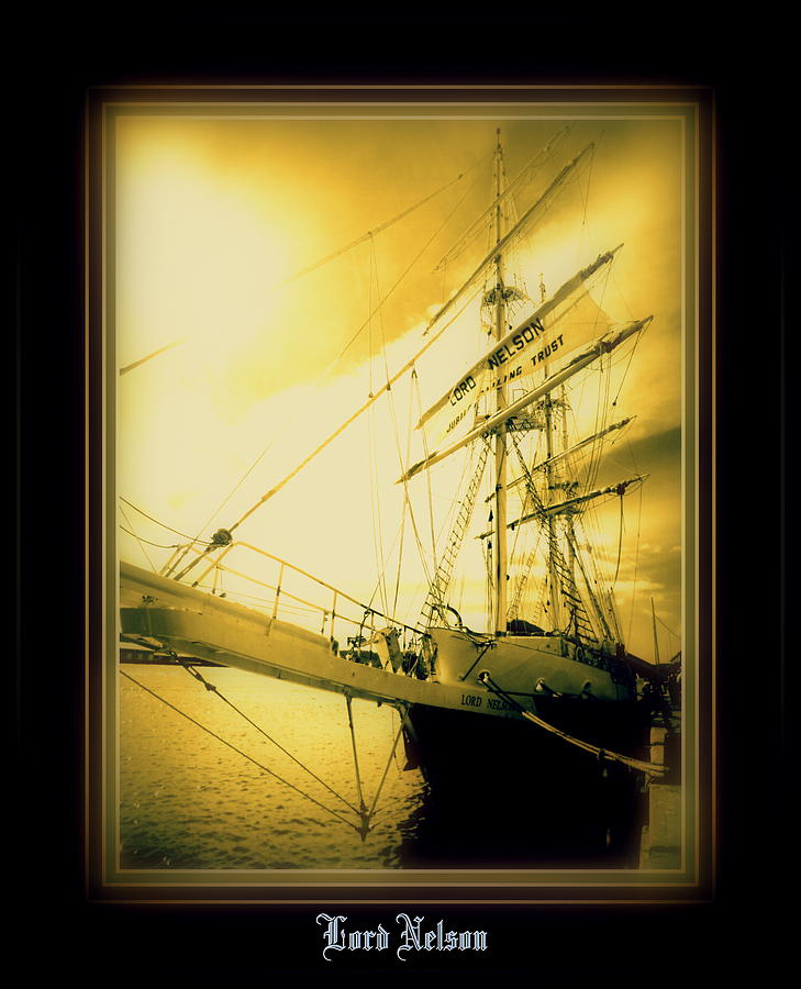 Ship Photograph - Thlord Nelson by Ritchard Mifsud