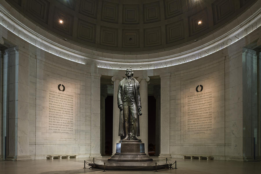 Thomas Jefferson Memorial at Night by Sebastian Musial