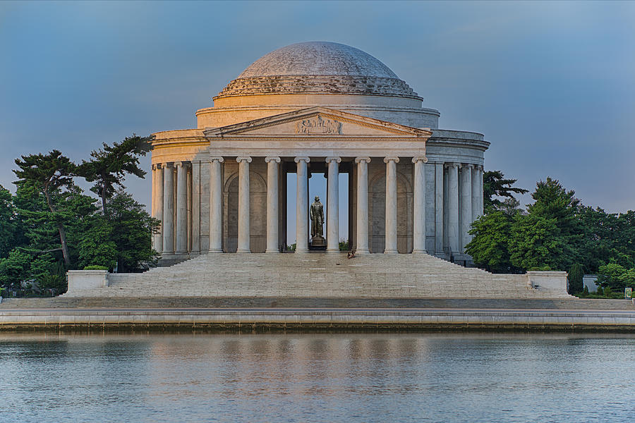 Thomas Jefferson Memorial at Sunrise by Sebastian Musial