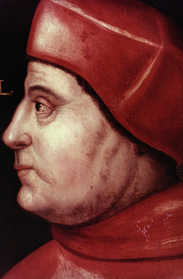 16th Century Painting - Thomas Wolsey (c1475-1530) by Granger