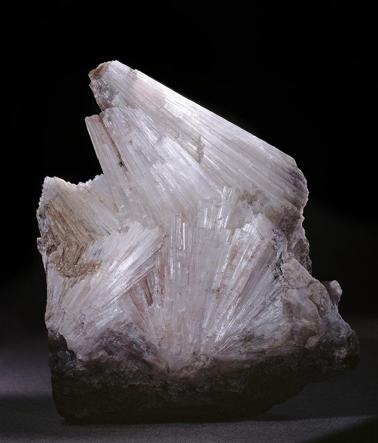 Thomsonite Photograph - Thomsonite Mineral Specimen by Science Photo Library