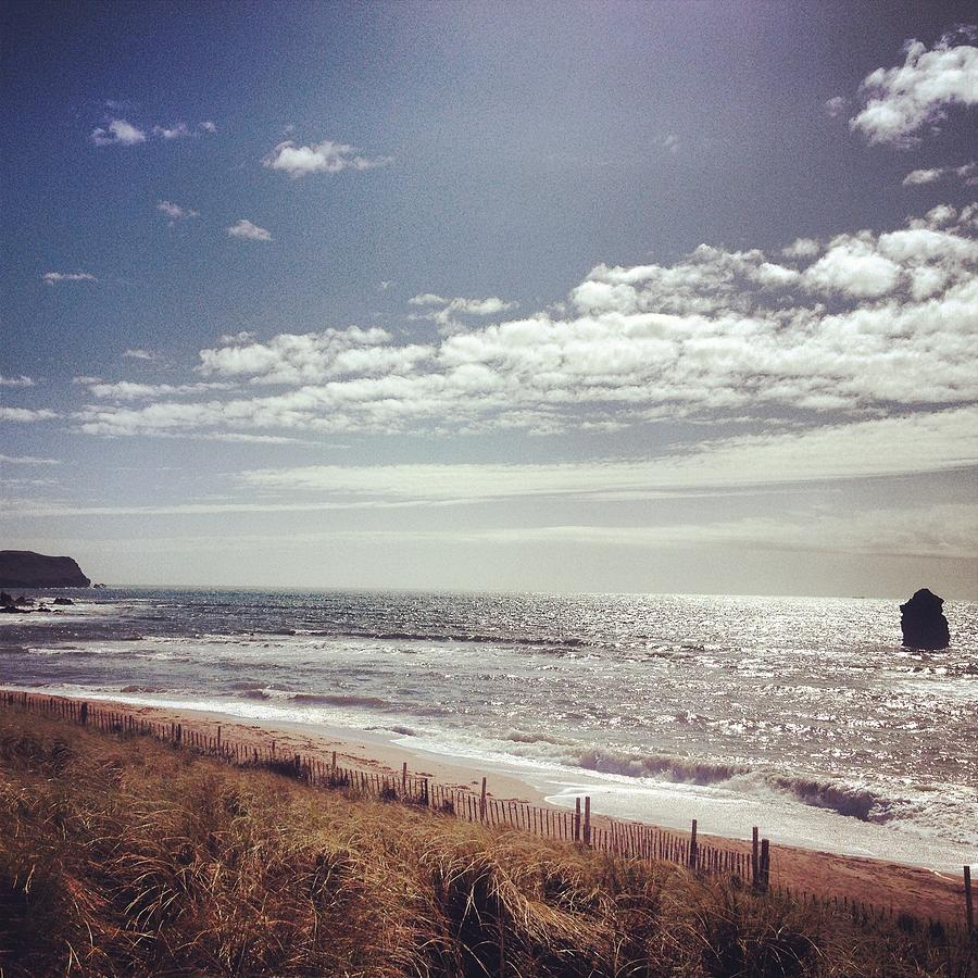 Thornbury. Devon Beach Photograph by Seiphotos