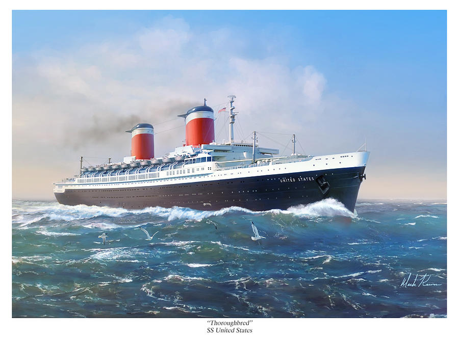 Thoroughbred Ss United States Painting By Mark Karvon