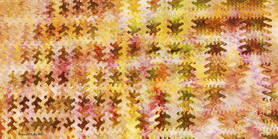 Fractal Digital Art - Those Autumn Leaves by Richard Kelly