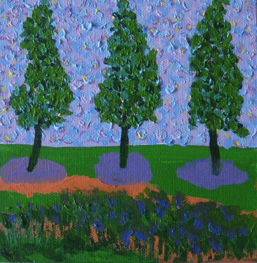 Those Trees I Always See 10 by Edy Ottesen