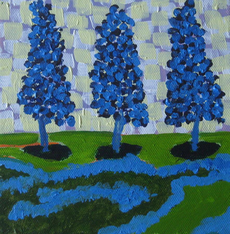 Those Trees I Always See 11 by Edy Ottesen