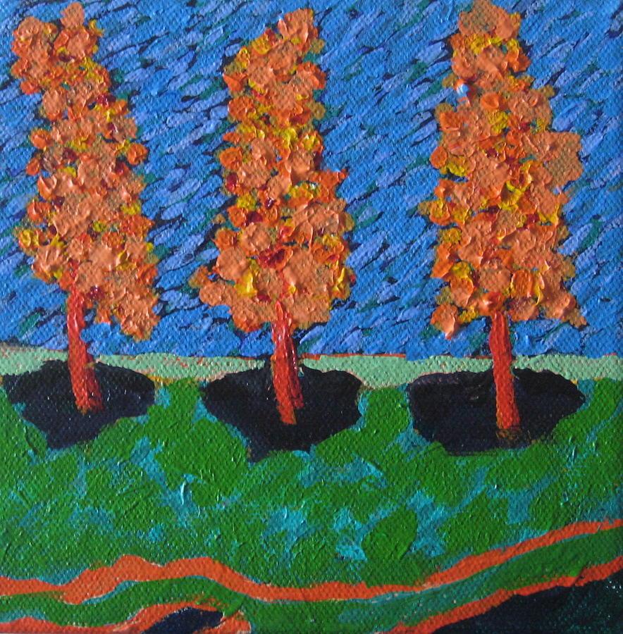 Those Trees I Always See 12 by Edy Ottesen