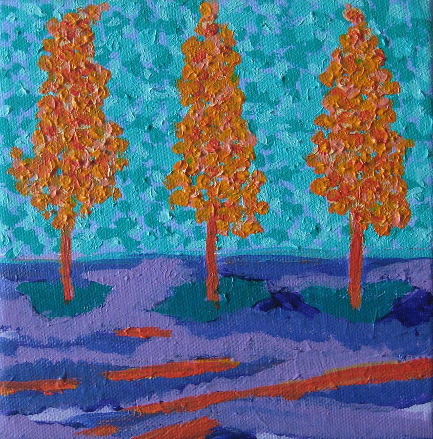 Those Trees I Always See 17 by Edy Ottesen