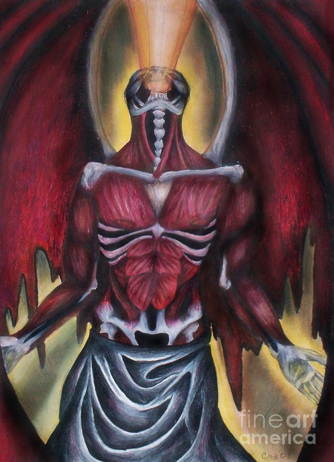 Thoth Mixed Media - Thoth II  by Coriander  Shea