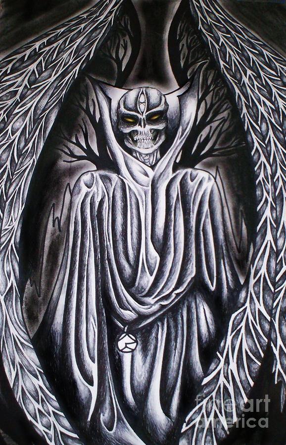 Thoth Mixed Media - Thoth IIi by Coriander  Shea