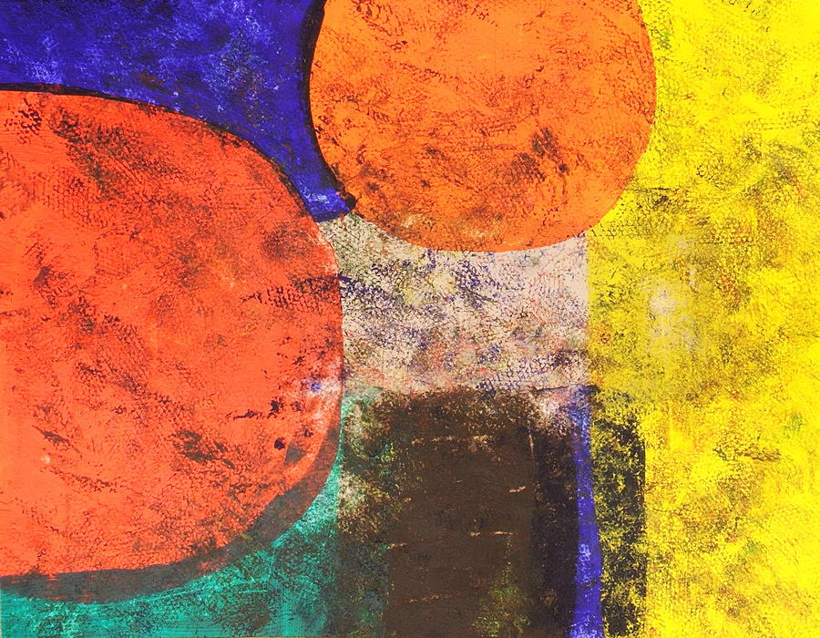 Abstract Painting - Thought Enhancements by Sue McElligott