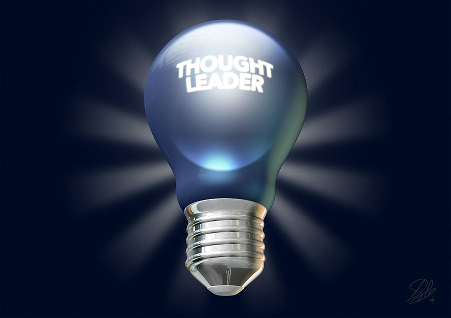 Thought Leader Digital Art - Thought Leader by Allan Swart