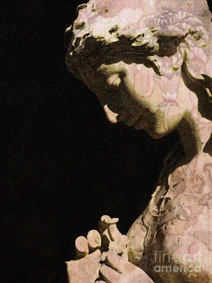 Sculpture Photograph - Thoughts Of You by Colleen Kammerer